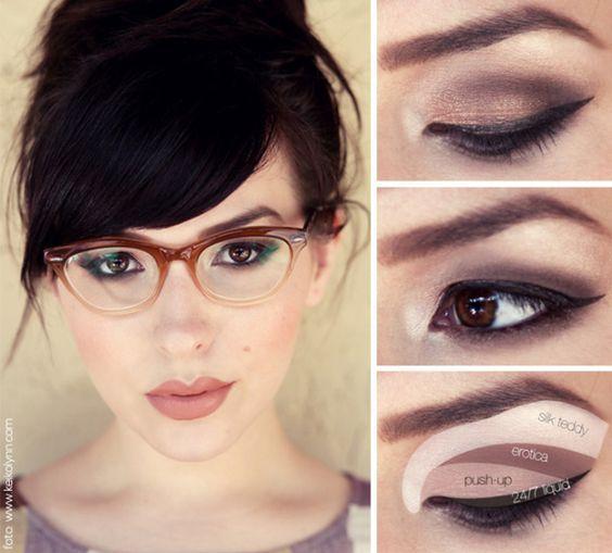 07e2bdd493daa 7 Dicas de maquiagem para quem usa óculos Blog Cinderela de Mentira ...