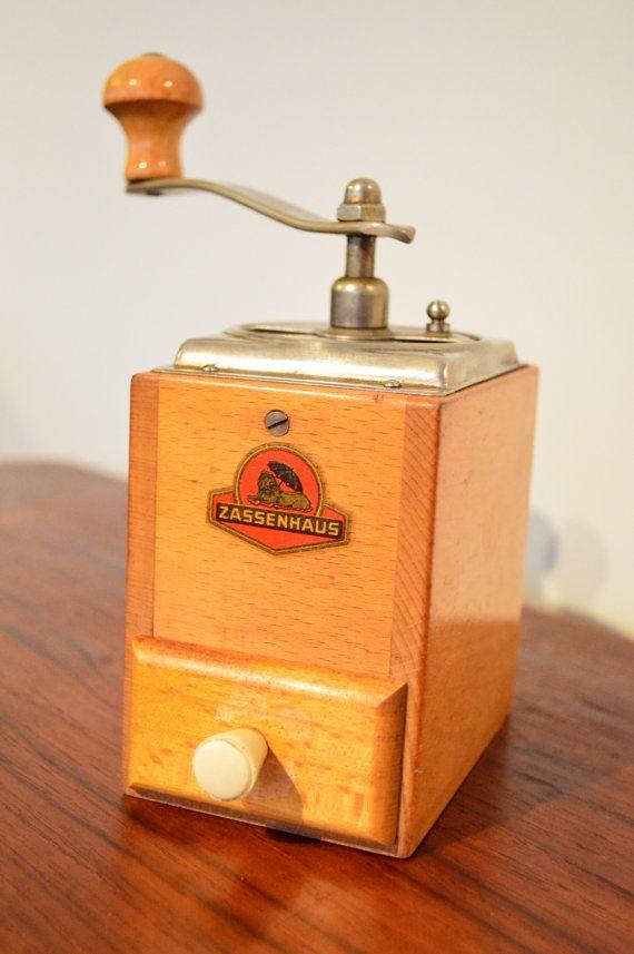 Vintage Zassenhaus Coffee Mocha Grinder Vintage Coffee Vintage Coffee