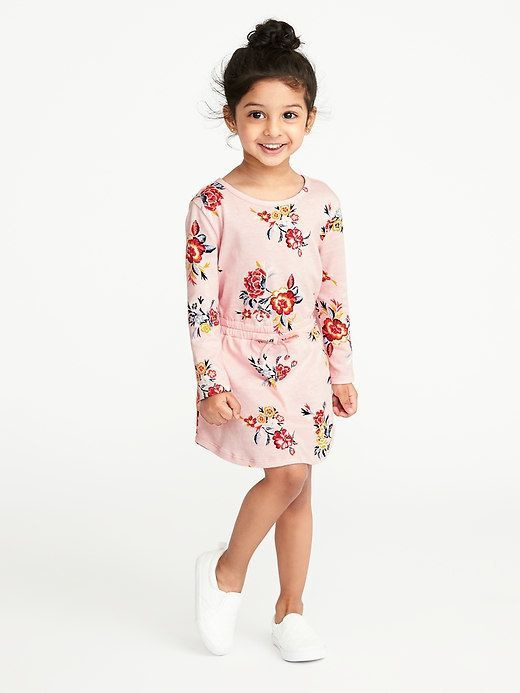 8f31a251b428 Old Navy Floral-Print Jersey Dress for Toddler Girls | Products