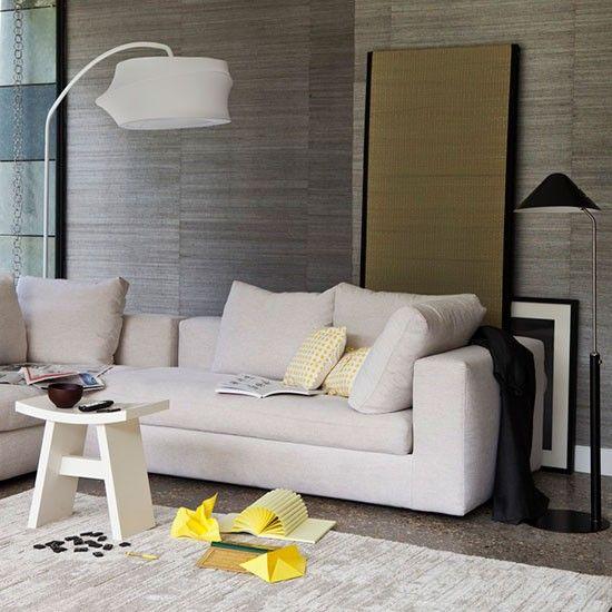 Japanese Inspired Living Room 20 amazing textured wallpaper ideas | living room neutral