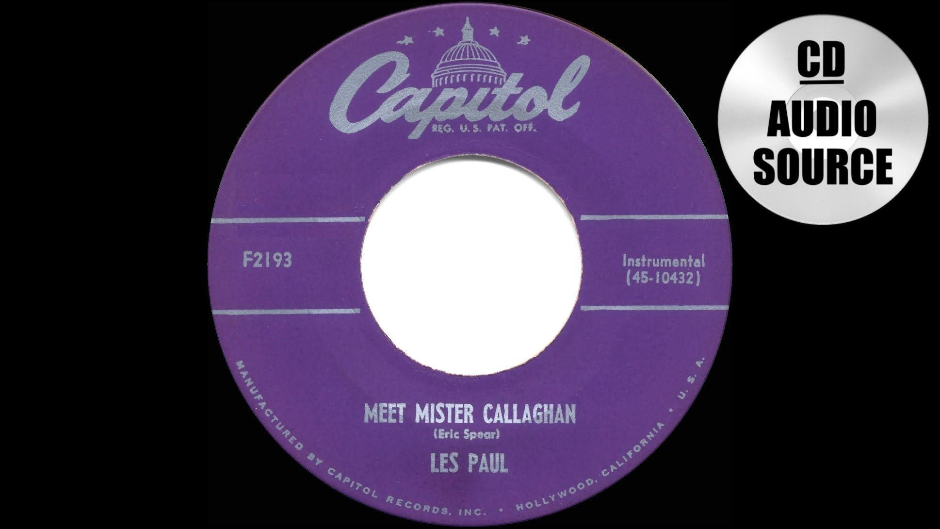 Hits Archive Meet Mr Callaghan