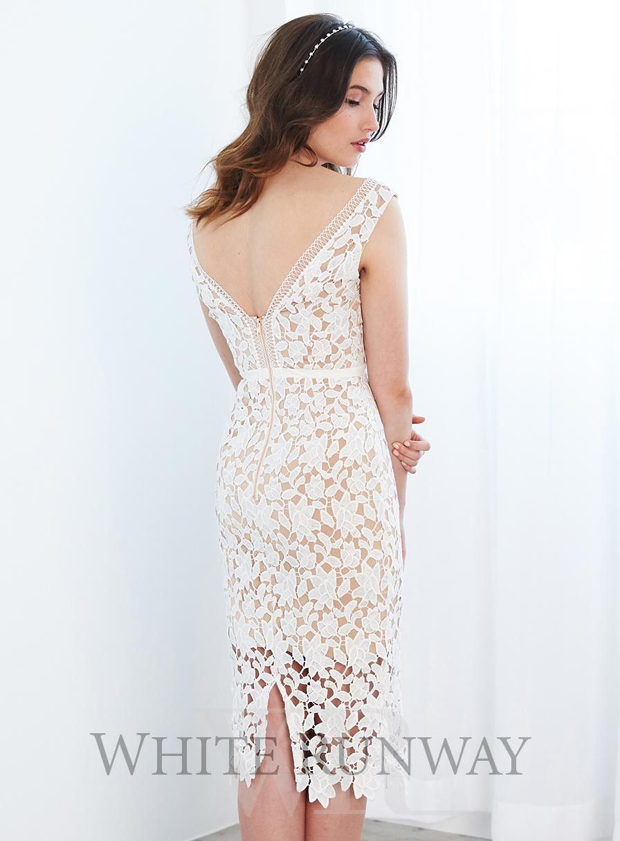 Rehearsal dinner/ bridal shower Karla Lace Dress by Love Honor ...