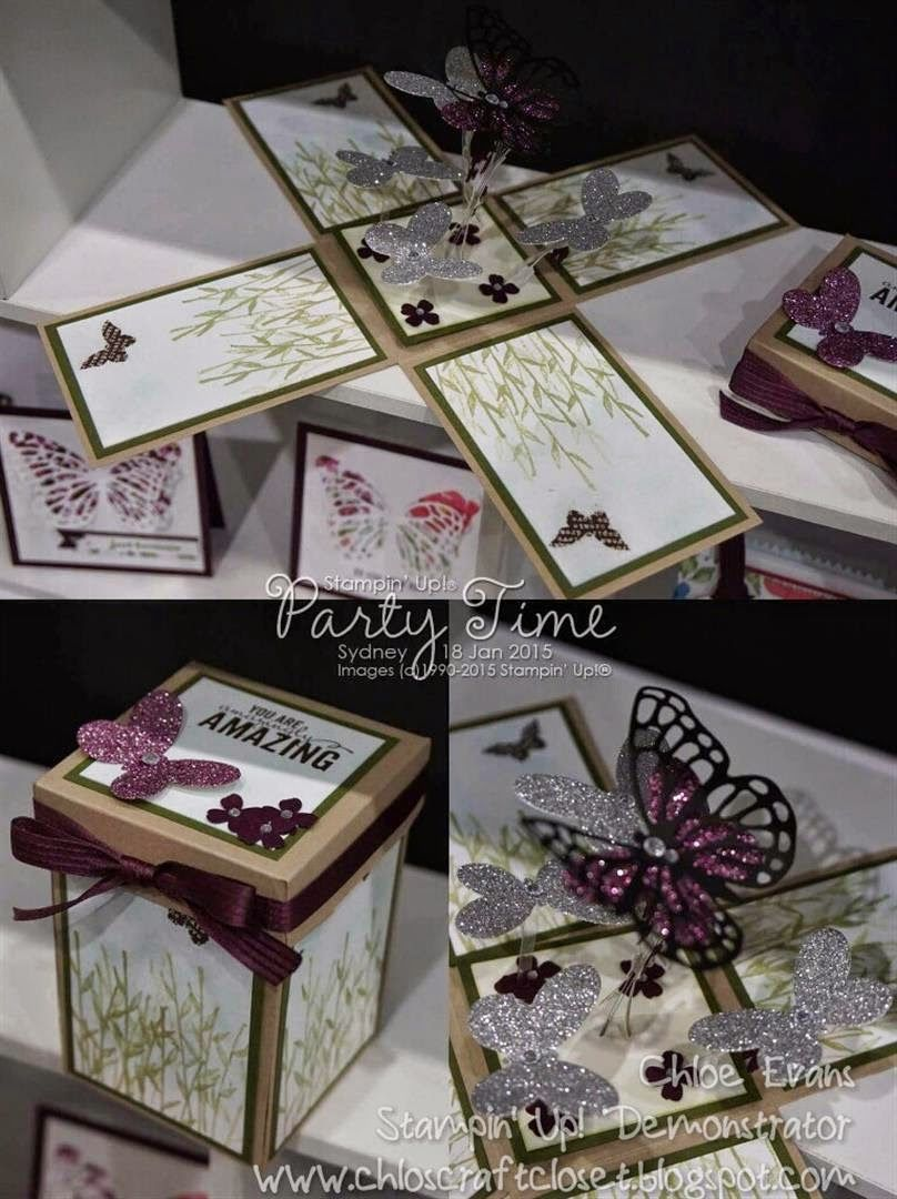 Chlo's Craft Closet - Stampin' Up! Demonstrator: Stampin' Up! Party Time in Sydney