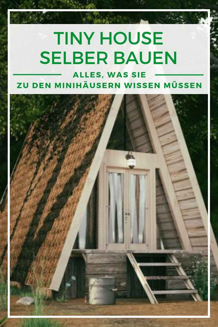 Tiny House Planung, Baugenehmigung, Kosten Haus selber