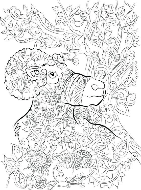 Download 40 Adult Colouring Pages 1 Image From My ChanDraws Mind Escape Coloring Book