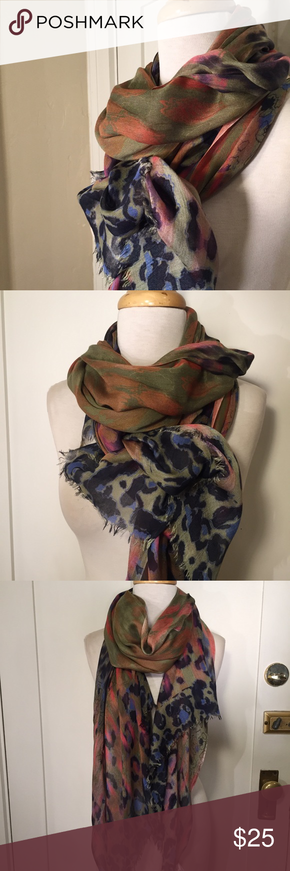 Pistil Colorful 100 Modal Scarf With Images Colorful Scarf