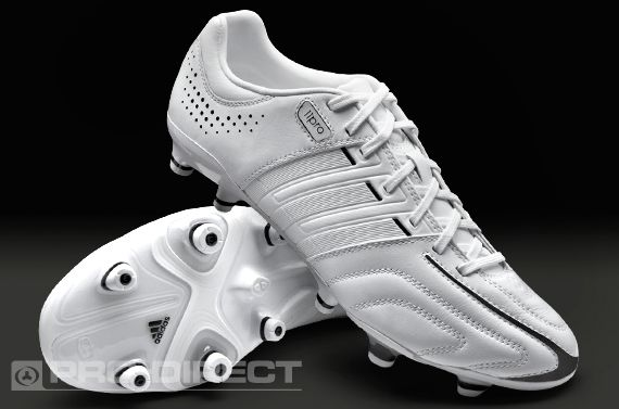 reputable site d5b9e d7559 adidas Football Boots - adidas adipure 11Pro TRX FG - Firm Ground - Soccer  Cleats - White-White-Black