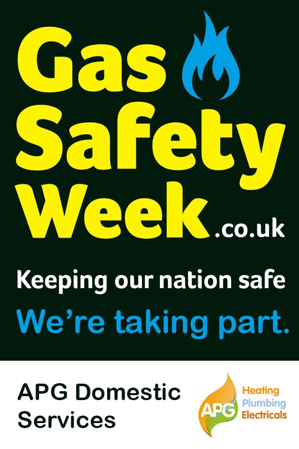 Gas Safety Week 2019 Safety message, Safety week