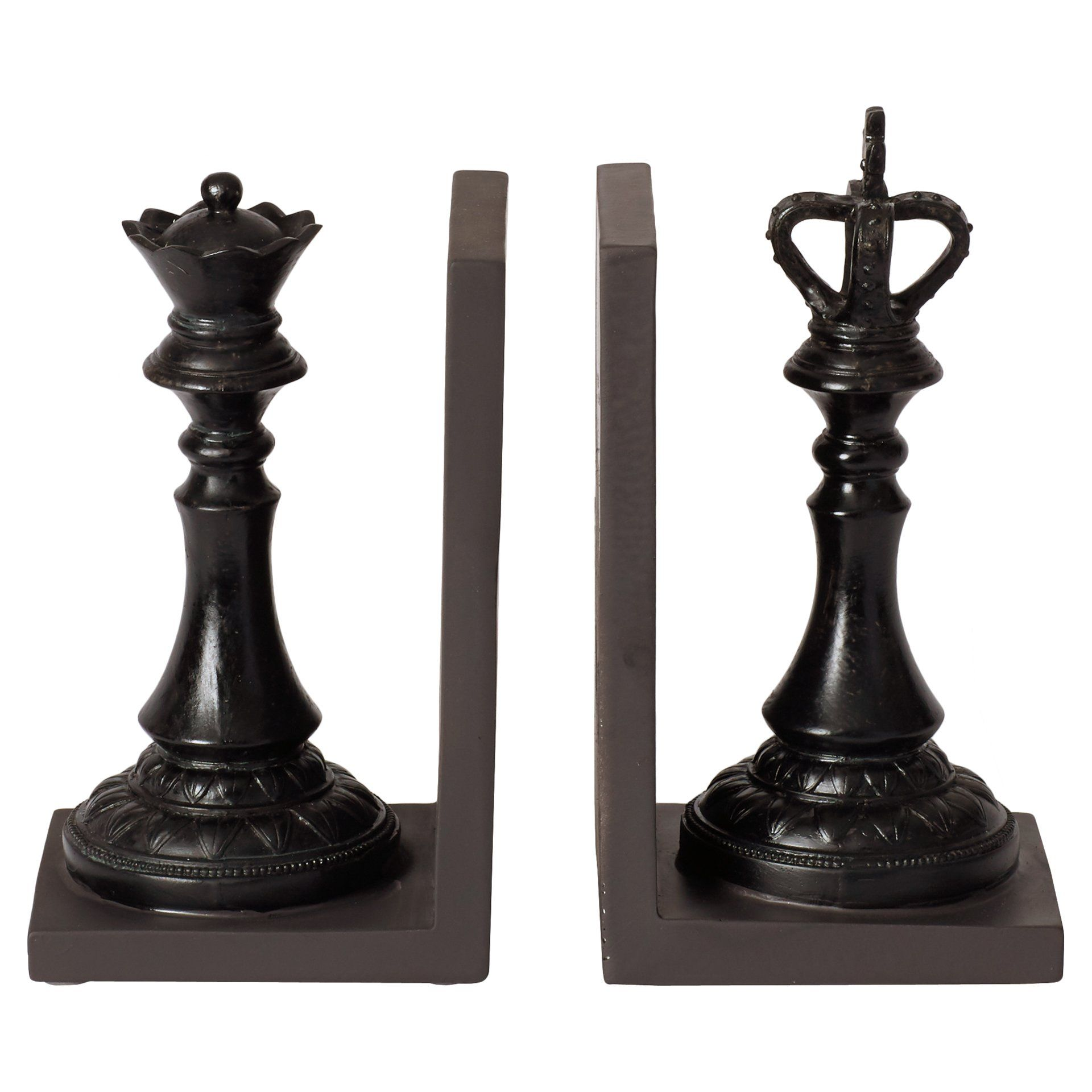 15 Clever Ideas To Decorate Your Small Living Room: Bookends, Queen Chess Piece