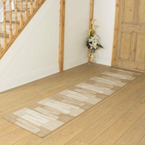 Teppich Angelique in Beige ModernMoments Teppichgröße: Läufer 240 x 66 cm