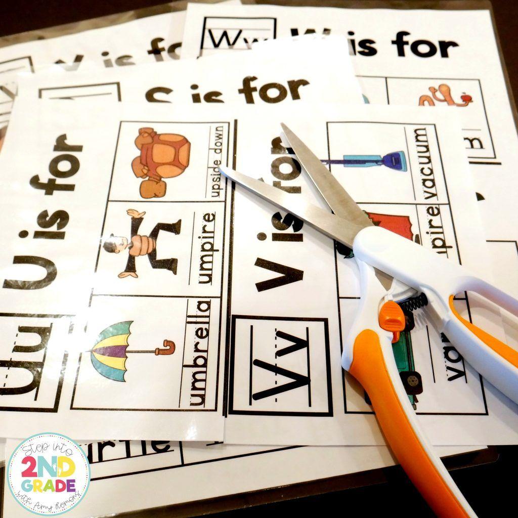 Abc Booklet Freebie Step Into 2nd Grade Alphabet Kindergarten Homeschool Learning Kindergarten Writing Preschool writing letters upside down