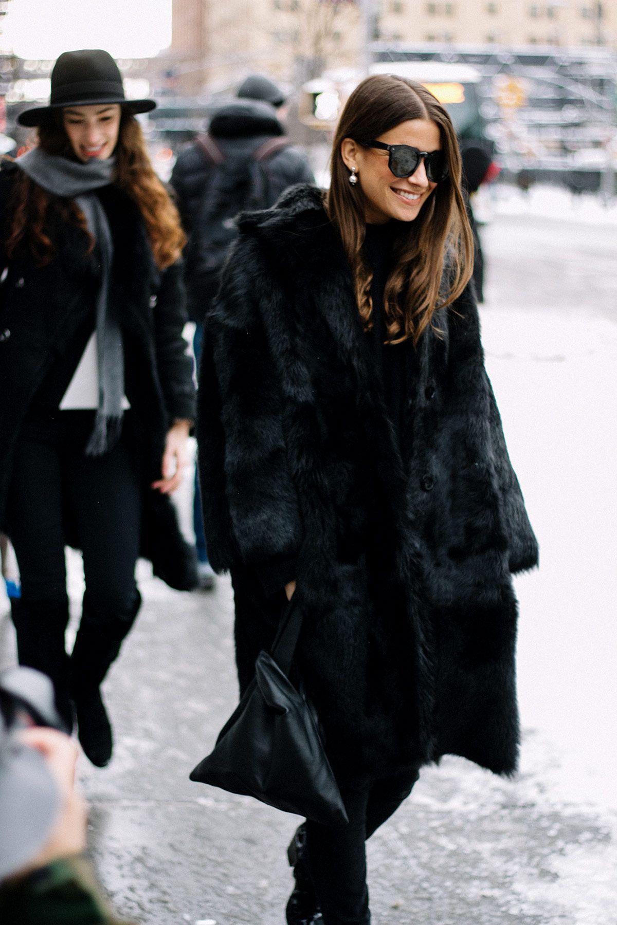 a25f65ebc7e  StreetStyle  NYFW Otoño-Invierno 2017. Fall Outfit IdeasFall Winter  OutfitsWinter ...