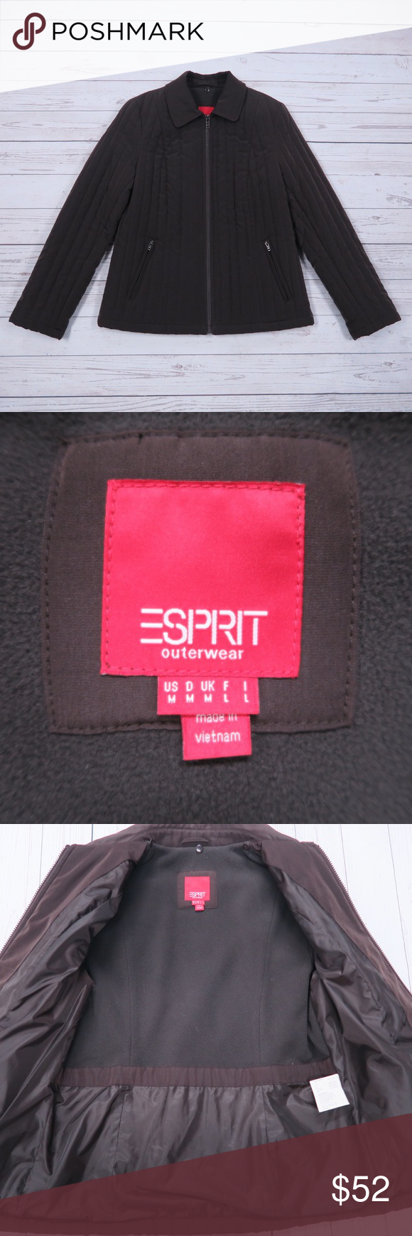 Esprit Jacket Brown Jacket Jackets Esprit [ 1740 x 580 Pixel ]
