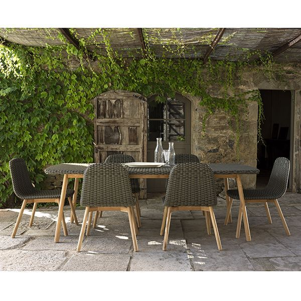 Lounge chair cushion gray west elm chairs and outdoor lounge - Point Round Outdoor Dining Table Chairs Chair Patio