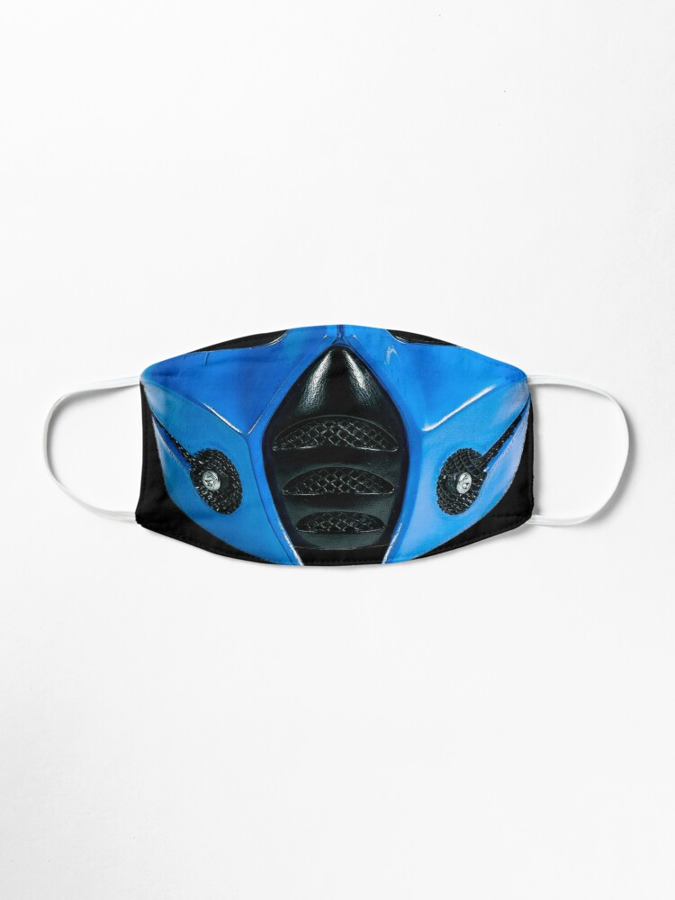 Sub Zero Mask Warrior Mask By Guillermofarze Mask Face Mask Sunglasses Case