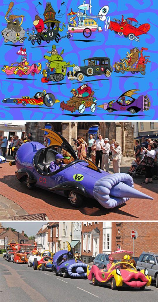 10 carros reais inspirados em desenhos animados cars pinterest