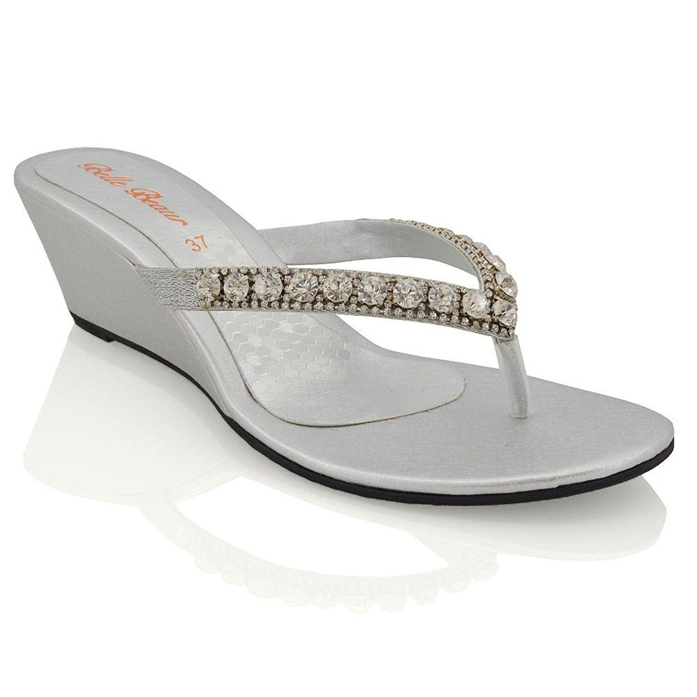 Cross*Glam, Womens Open Toe Sandals Flip*Flop