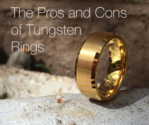 What Are The Pros And Cons Of A Tungsten Ring Learned A Few Things Myself Actually Tungsten Ring Tungsten Wedding Rings Rings