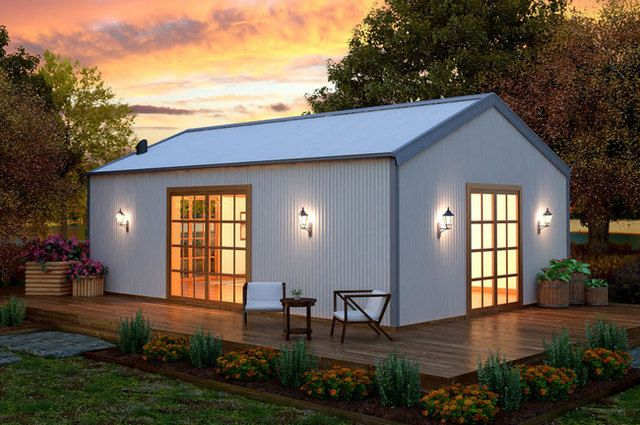 Livable Small Shed Homes | Tiny home in 2019 | Shed homes, Metal
