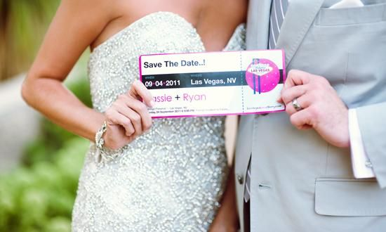 Save the date cards that match your wedding colors and give the destination | Chelsea Nicole Photography