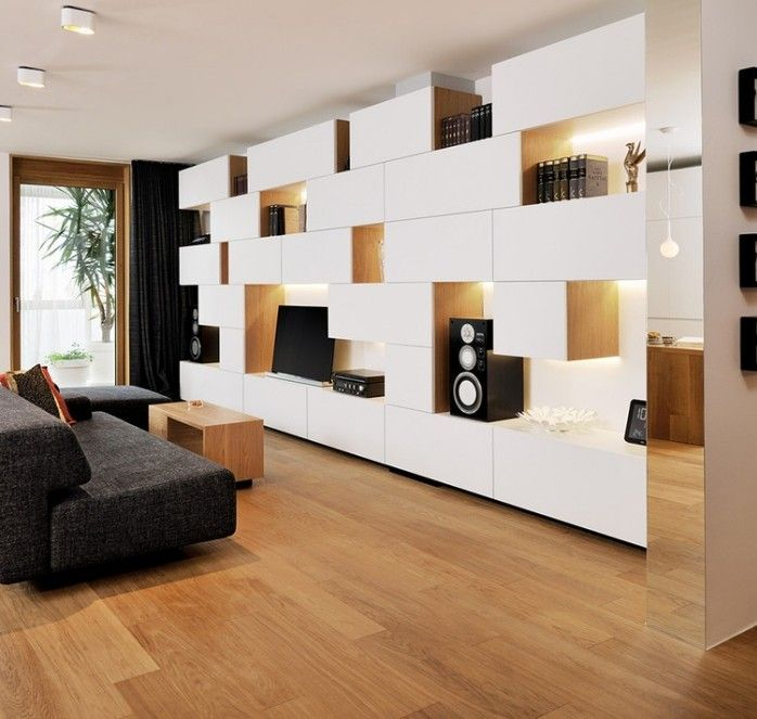 deavita wp-content uploads 2014 12 funktionale-wohnwand-design, Wohnzimmer dekoo