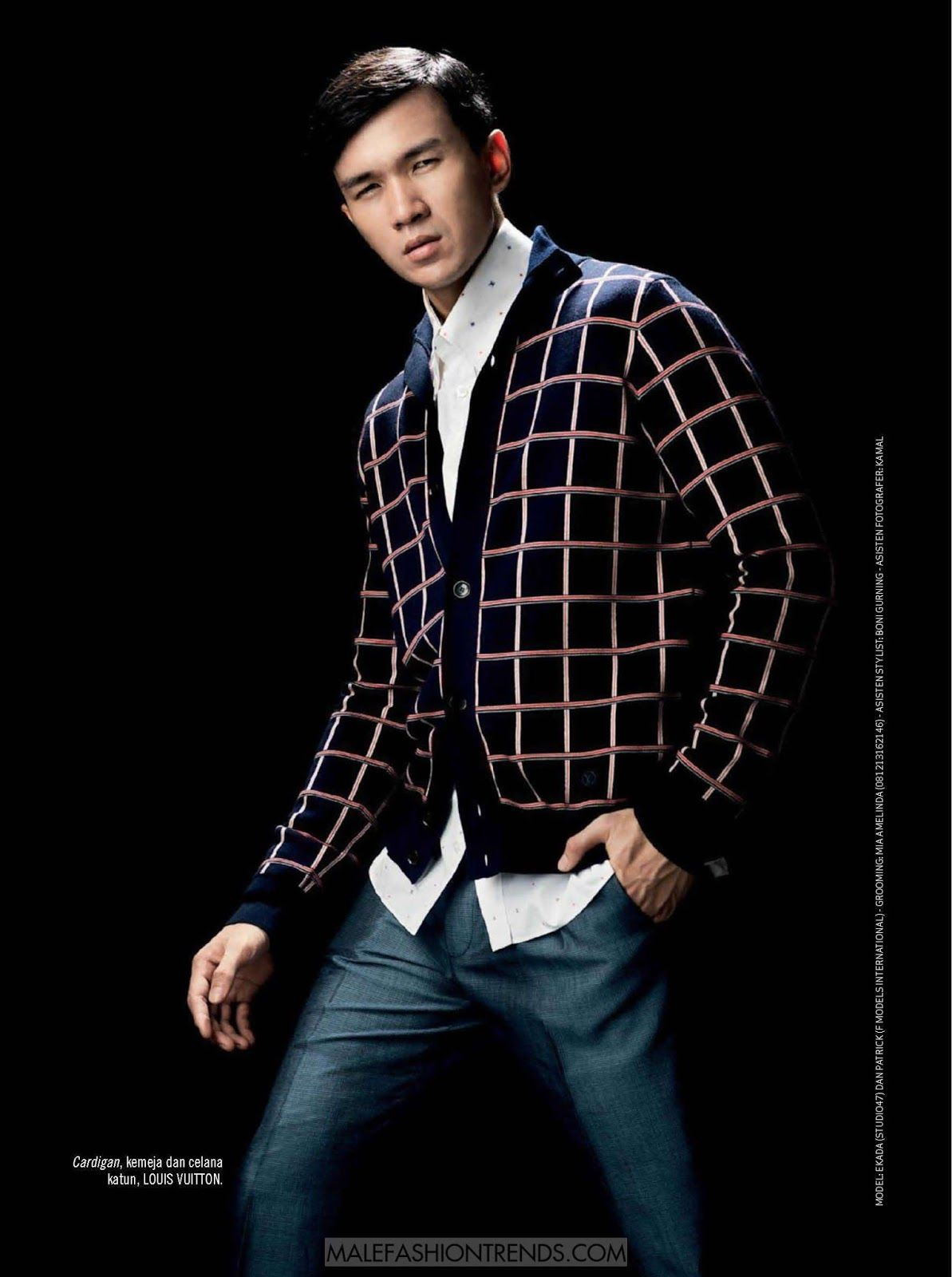 Male Fashion Trends: Ekada y Dan Patrick para Esquire Indonesia por Denn Tjan