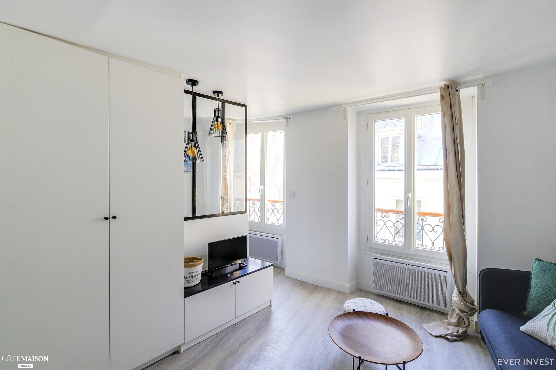 Studio 24 m2 redistribu investissement locatif paris - Architecte interieur paris petite surface ...