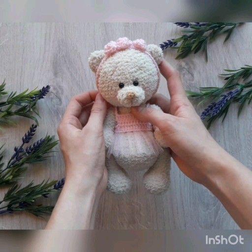 Crochet pattern bear, Amigurumi bear, Amigurumi pa
