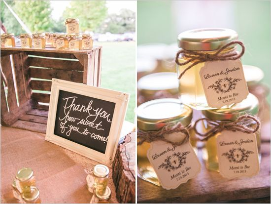 Pinterest Inspired Vintage Wedding Honey Wedding Honey Wedding Favors Wedding Shower Favors