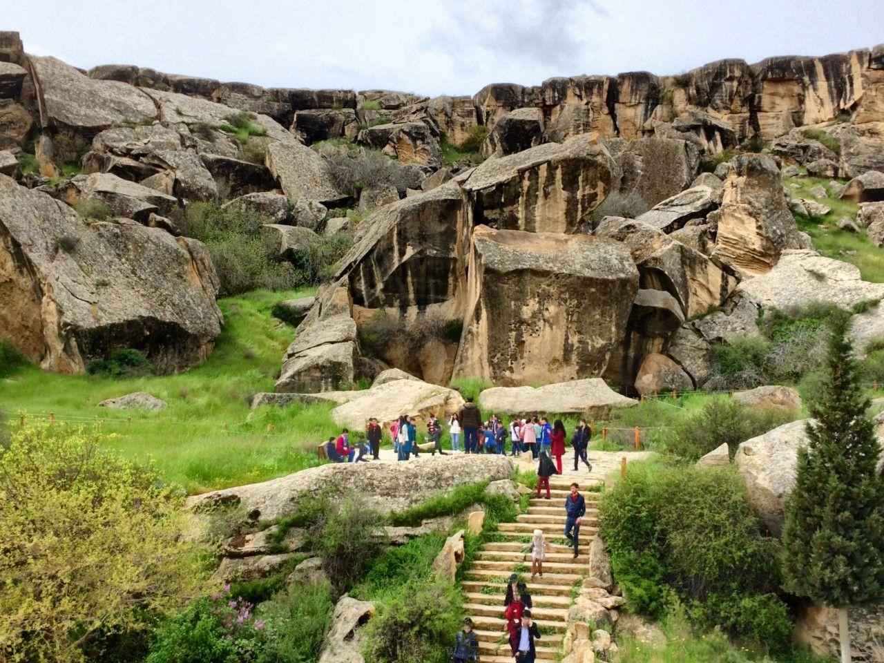 Gobustan Preserve Azerbaijan محمية قوبوستان أذربيجان Qobustan Group Tours Tours Places To Visit