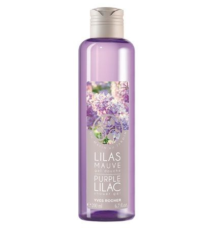 Purple Lilac Shower Gel Shower Gel Yves Rocher Gel