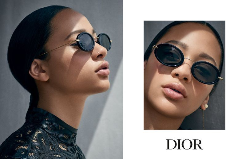 c6beefc2759 Model Selena Forrest appears in Dior Eyewear cruise 2019 campaign