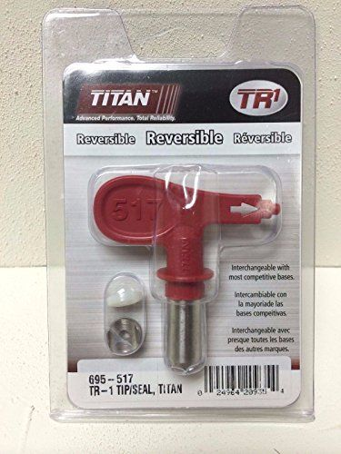 Titan 695517 0289729 Tr1 Reversible Airless Spray Tip And Seal Learn More By Visiting The Image Link Spray Paint Sprayer Reverse