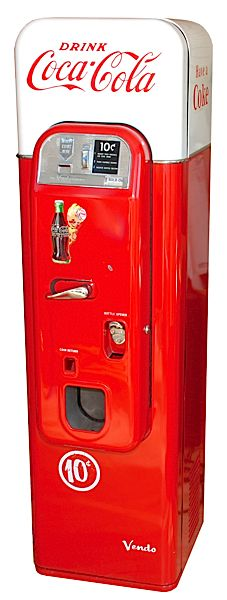 1956 - 1959 Coke Machine