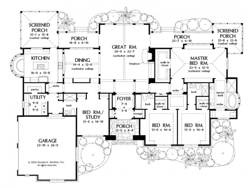 European Style House Plan 4 Beds 4 Baths 3224 Sq Ft Plan 929 930 Luxury House Plans House Plans One Story How To Plan