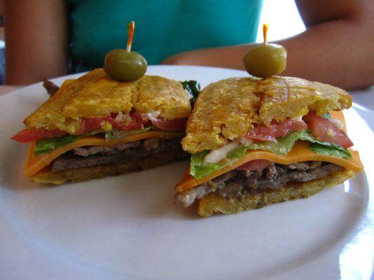 Tostone Sandwich