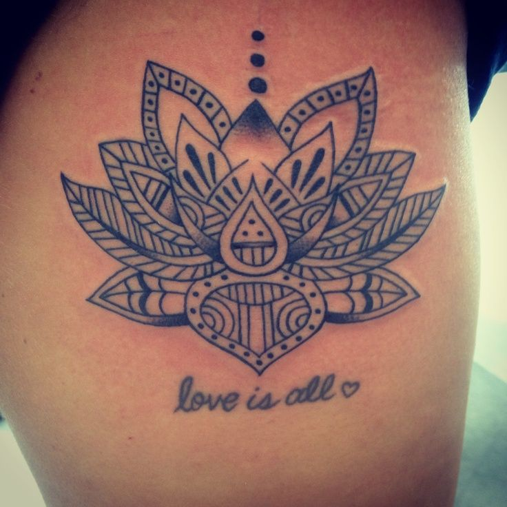 Similar Lotus flower tattoo ideas tribal | Creativity and ...