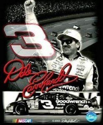 Image detail for -Dale Earnhardt Sr NASCAR Auto Racing 8x10 Photograph Signature Series ...