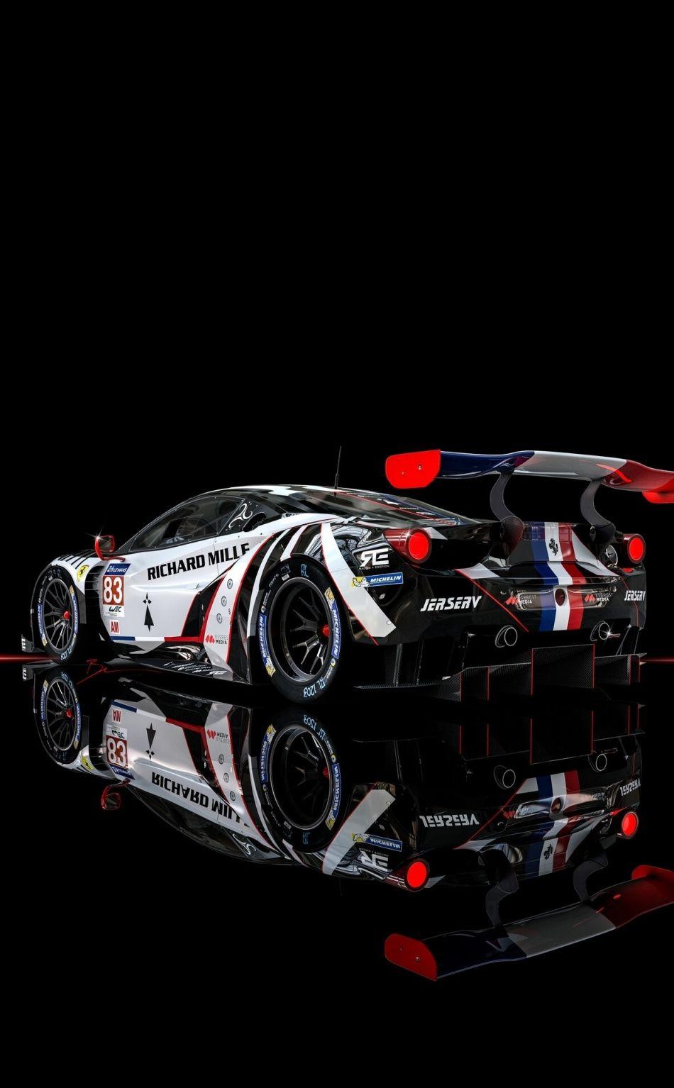 950x1534 Ferrari Race Car Rear Wallpaper Race Cars Sports Cars Luxury Racing