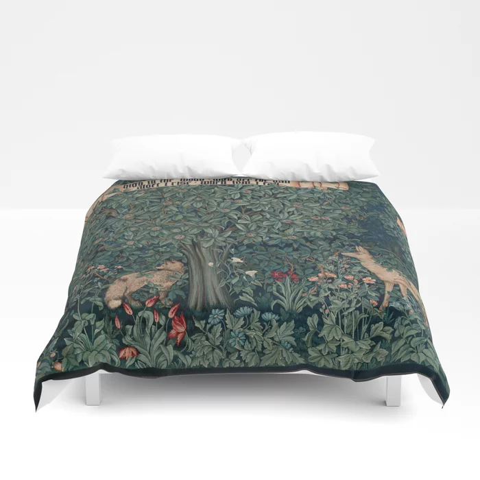 Buy William Morris Greenery Tapestry Duvet Cover By Forgottenbeauty Worldwide Shipping Available At Society6 Com Just On Duvet Covers Duvet Soft Duvet Covers