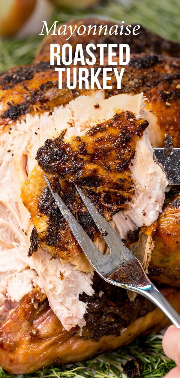 Photo of Mayonnaise roasted turkey