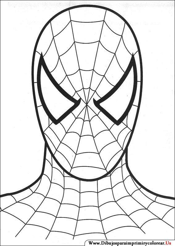 Dibujos De Spiderman Para Imprimir Y Colorear Coloring
