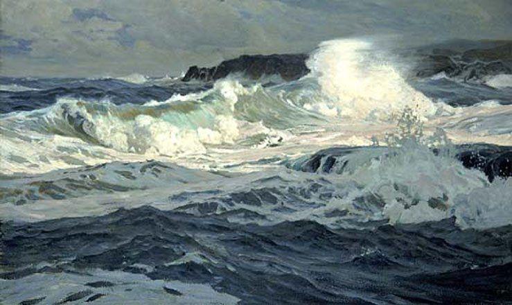 Frederick Judd Waugh Usa Peinture Mer Peinture Paysage Paysage