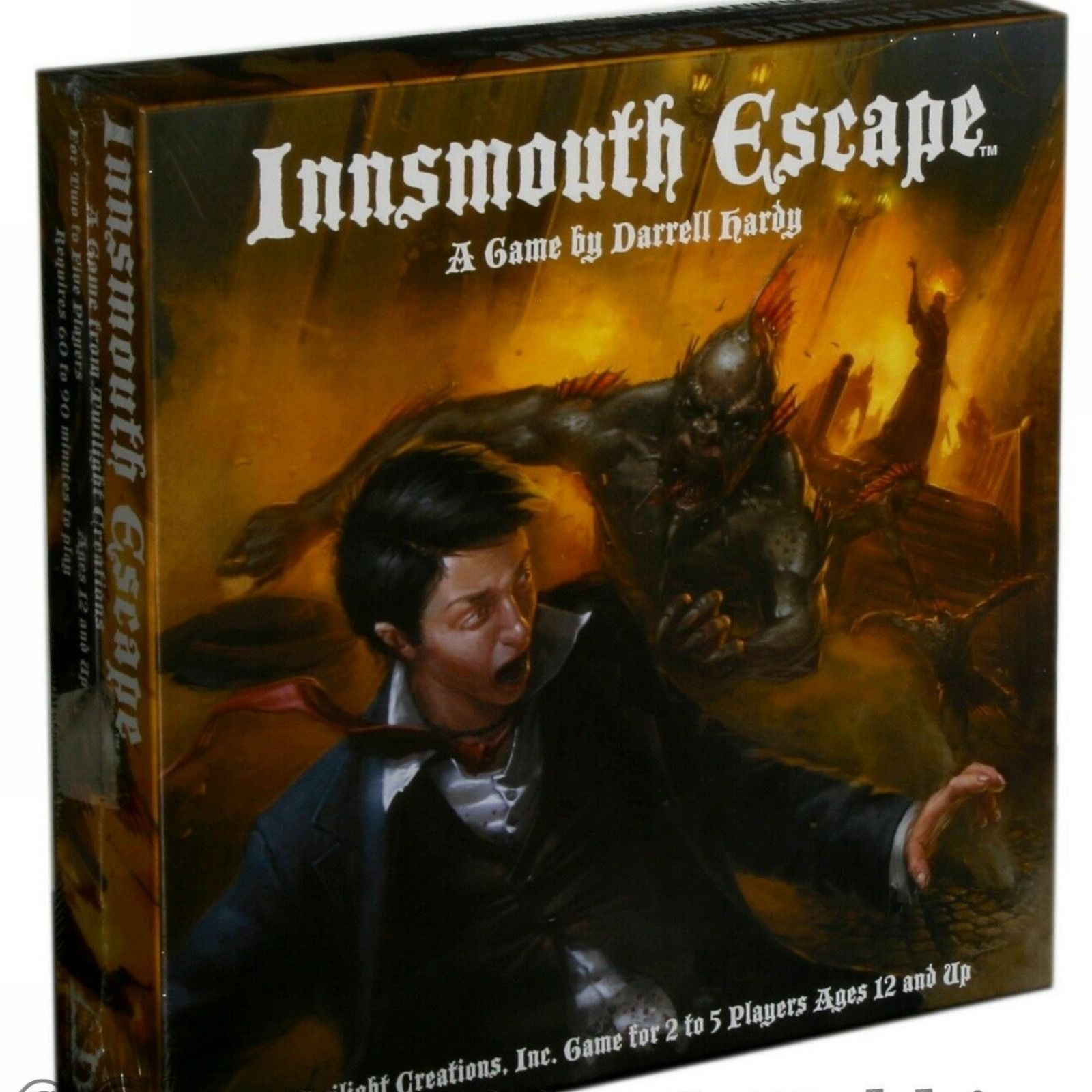 Details about NEW Innsmouth Escape Cthulhu Horror Board
