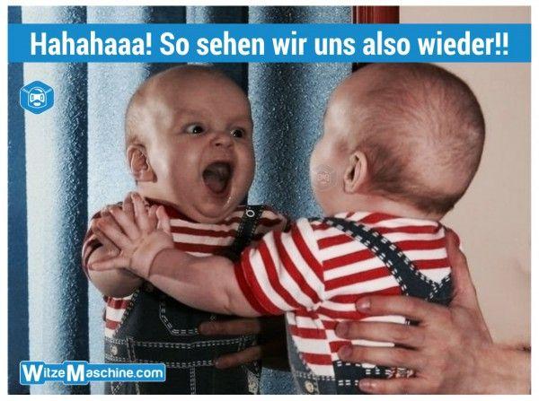 Baby Spiegelbild