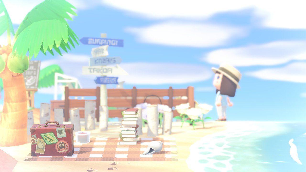 ビーチ あつ 森 【あつまれどうぶつの森】島のレイアウト ビフォー・アフター|ひのふ|note