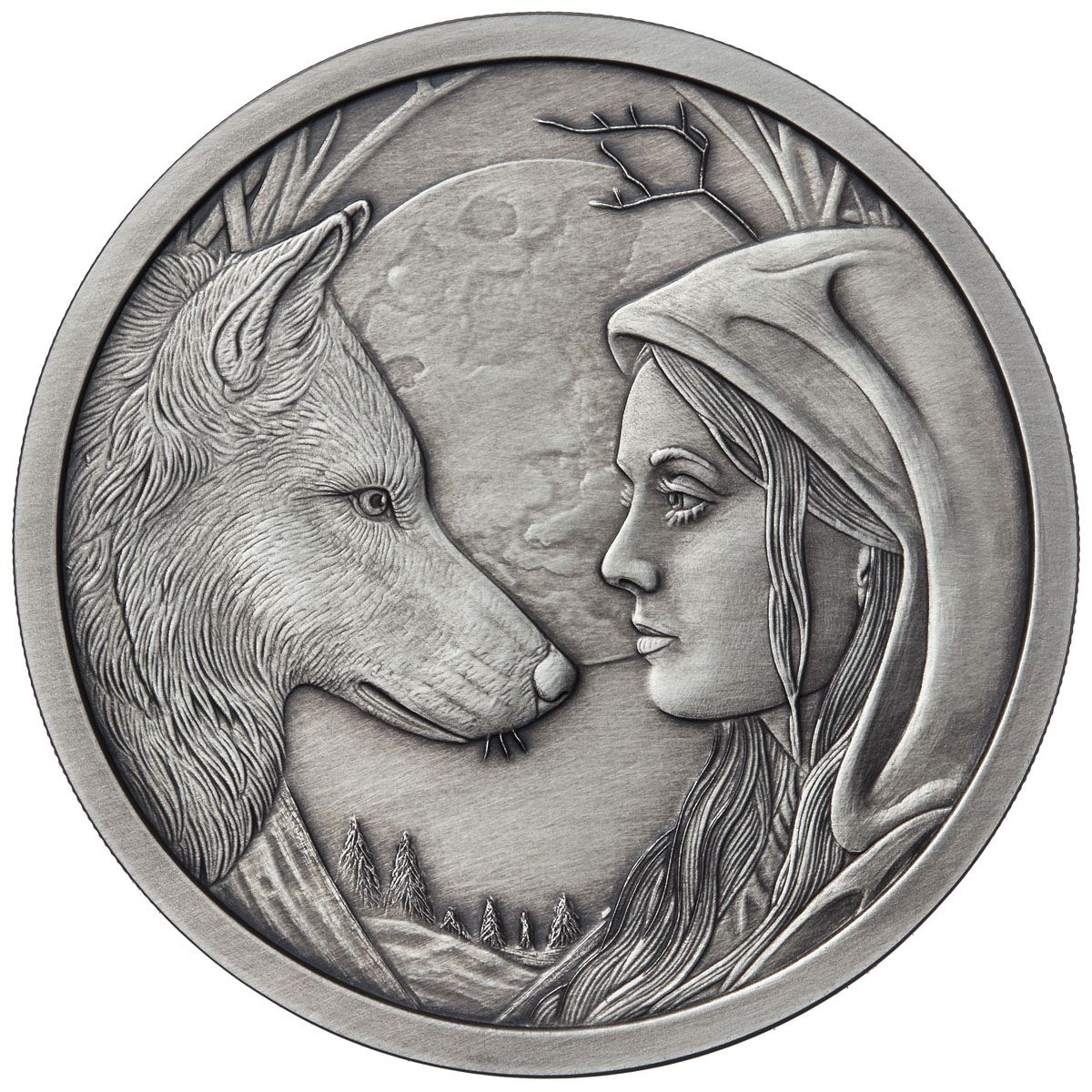1 OZ SILVER COIN LISA PARKER COLLECTION WHAT LIES WITHIN  2ND IN SERIES 750 MINT