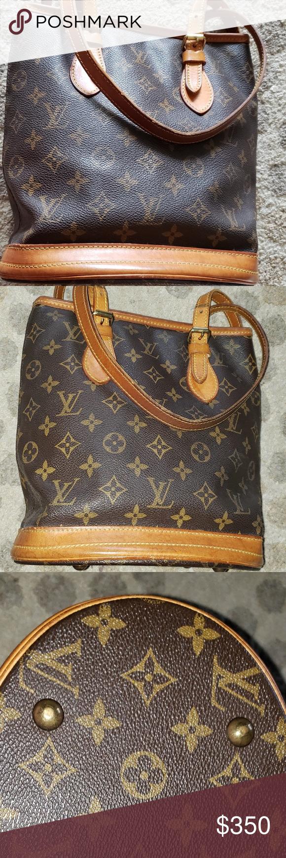Louis Vuitton Bucket Bag Authentic Louis Vuitton bucket ...