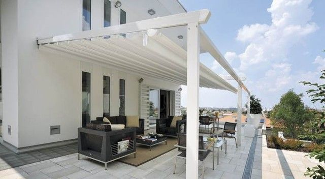 Genial Retractable Deck And Patio Awning