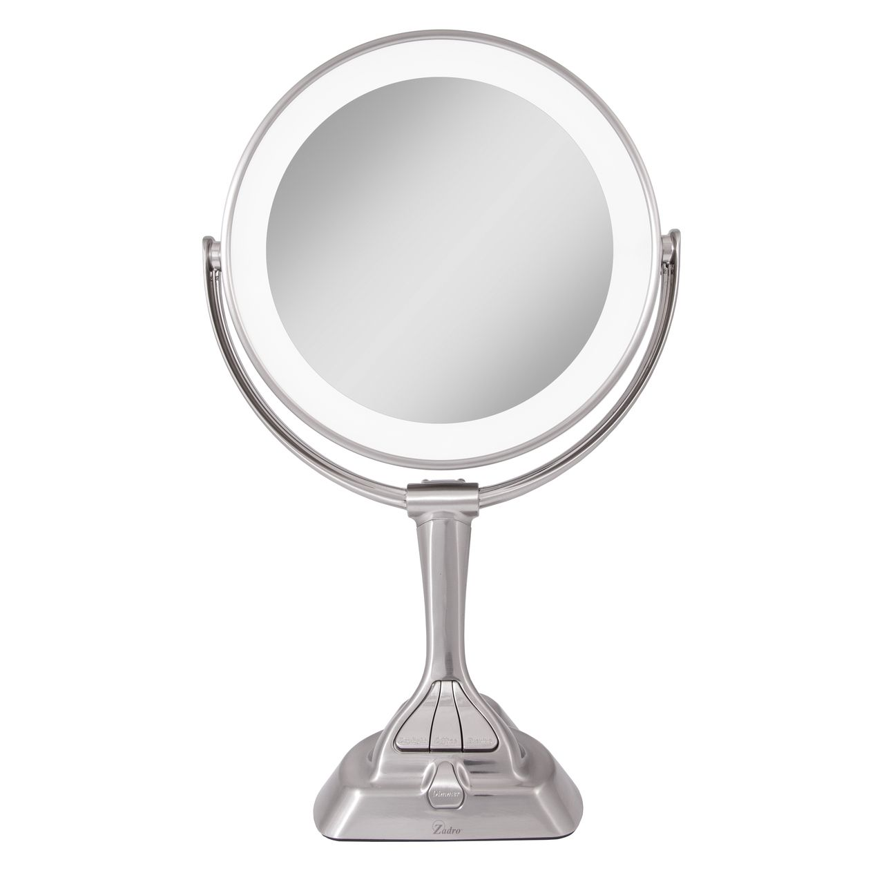 Led Variable Lighted Vanity Mirror 10x 1x With Images Lighted